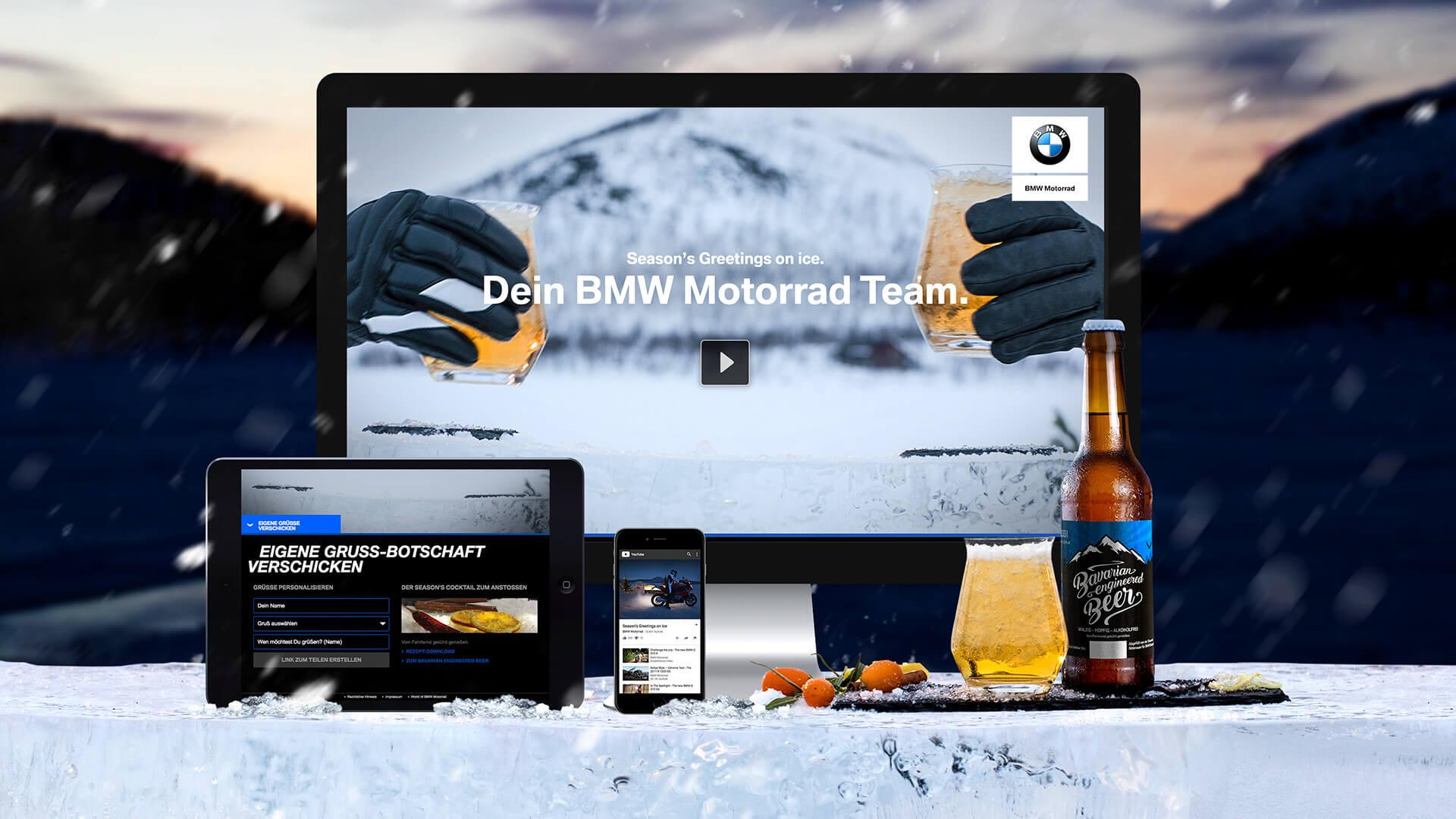 Bmw Motorrad Weihnachtsgrüße.Bmw Motorrad Season S Greetings Syzygy Deutschland